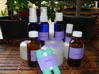Foto kit bases neutras curso mezclas aromaticas I